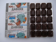 корм для аквариумных рыб,  блистеры,  шоколадки,  мотыль,  артемия,  дафния