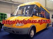 Автостекло триплекс,  лобовое стекло для микроавтобусов Рута