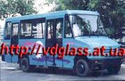 Автостекло триплекс,  лобовое стекло для автобусов Эней