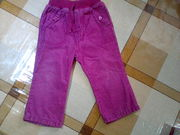 штанишки для девочки12 -18 месяцев микро вильвет