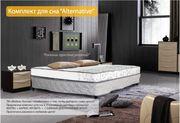 Недорогая кровать с матрасом 140х200