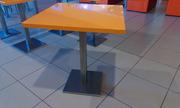 Продам столы оранжевого цвета б/у для КаБаРе