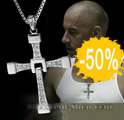 Крест Доминика Торетто Форсаж + цепочка