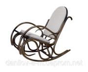 Кресло-качалка Олимп,  Кресло качалка из ротанга