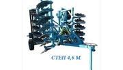 Агрегат почвообрабатывающий дисковый СТЕП М: 3, 6М;  4, 6М;  5, 2 М и 5, 9 М