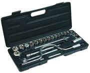 Набор сменных головок и насадок 24 шт Top Tools 38D260