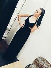 Продам вечернее черное платье