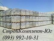 Шлакоблок стеновой 200х200х400 мм