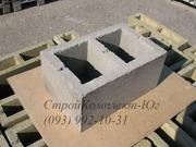 Блоки стеновые бетонные 250х200х400 мм
