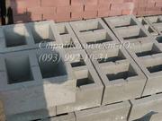 Блоки бетонные стеновые 300х200х400 мм