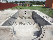 Блоки бетонные для бассейна
