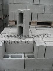 Шлакоблок перегородочный  120х200х400 мм