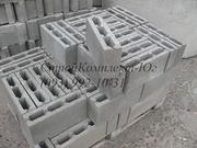 Шлакоблок простеночный 100х200х400 мм