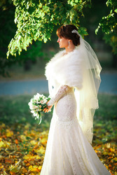 Свадебное итальянское платье фирмы ROZY