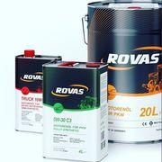 Моторные масла для грузовых автомобилей Rovas 15W-40