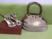 Женские босоножки и сумка Италия