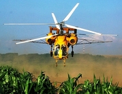 Вертолеты для обработки кукурузы