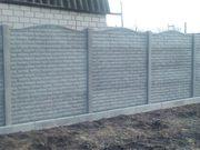 Заборы бетонные наборные (еврозаборы): производим и устанавливаем в Херсоне и области