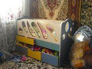 Продаётся кроватка детская(до 4-5 лет)